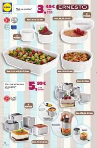 Catalogue lidl avec produits alimentaires et accessoires for Catalogue accessoires cuisine