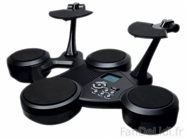 batterie lectronique musique instruments de musique fan de lidl fr. Black Bedroom Furniture Sets. Home Design Ideas