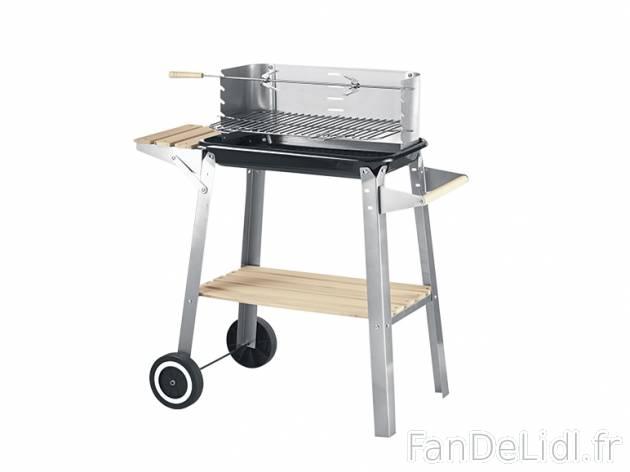 Barbecue mobile jardin fan de lidl fr for Jardin lidl 2015