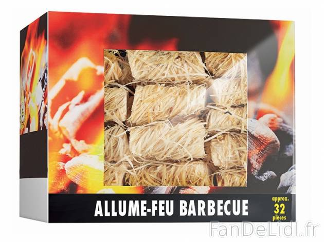 32 allume feu barbecue produits alimentaires fan de lidl fr. Black Bedroom Furniture Sets. Home Design Ideas