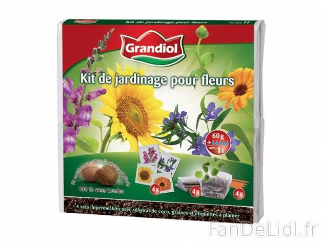 Kit de jardinage jardin fan de lidl fr for Catalogue de jardinage