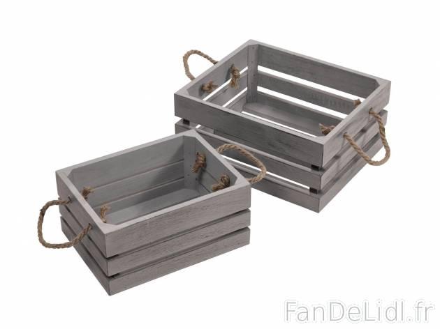 Caisse s en bois d coration de la maison am nagement - Ou acheter des caisses en bois ...
