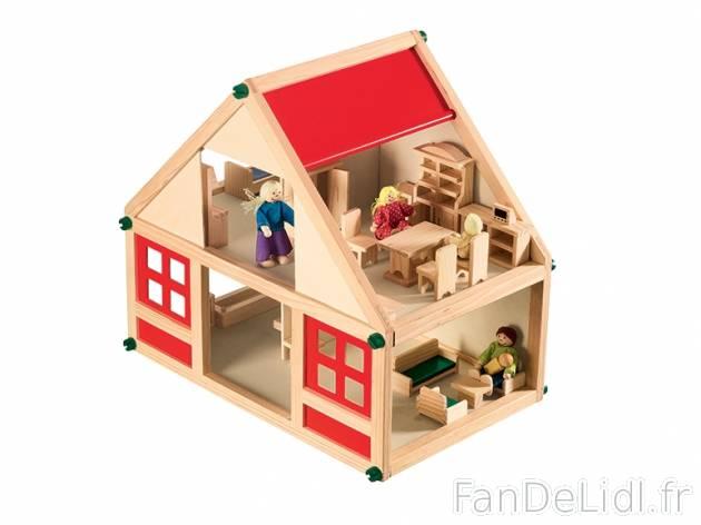 Maison de poup e pour enfants fan de lidl fr for Casa legno bambini