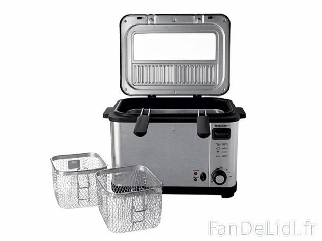 friteuse en acier cuisson et cuisine fan de lidl fr. Black Bedroom Furniture Sets. Home Design Ideas