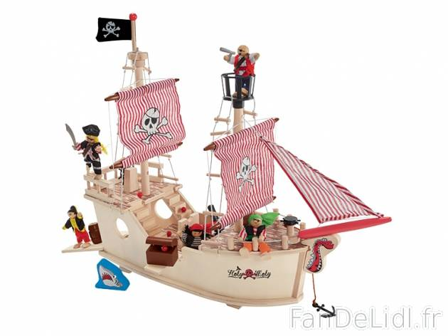 bateau de pirate pour enfants fan de lidl fr. Black Bedroom Furniture Sets. Home Design Ideas
