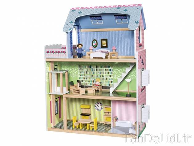 maison de poup e pour enfants fan de lidl fr. Black Bedroom Furniture Sets. Home Design Ideas