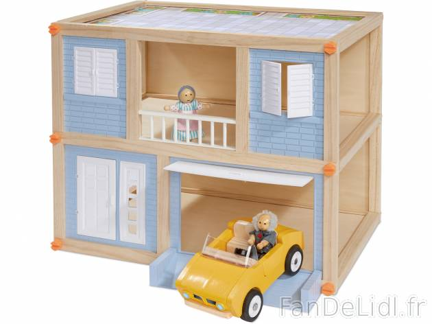 maison de poup es pour enfants fan de lidl fr. Black Bedroom Furniture Sets. Home Design Ideas