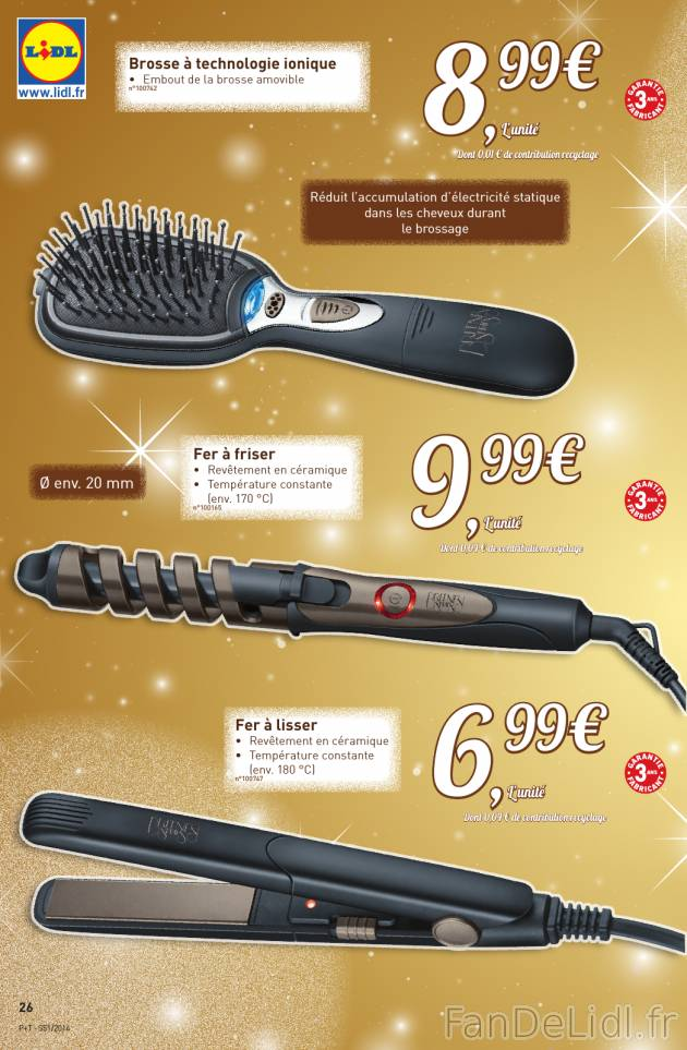 Produits pour cheveux brosse fer friser et fer for Brosse salle de bain