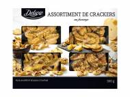 Assortiment de crackers , le prix 3.99 €