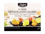 12 mini croustillants colorés , le prix 4.19 € 