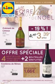 Catalogue de Lidl pour Noel du 03/12 au 09/12 2014  Lidl France