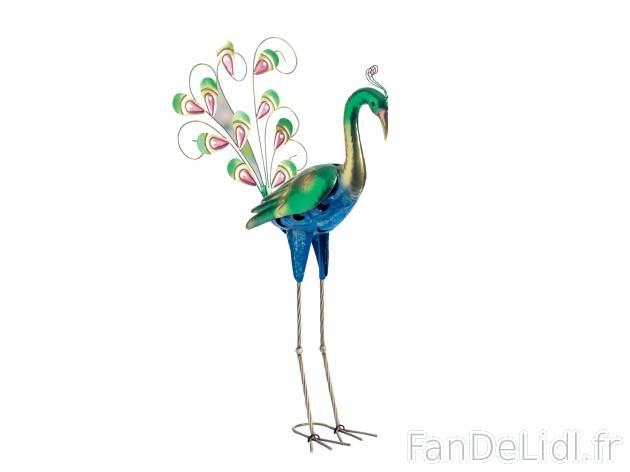 oiseau dcoratif de jardin prezzo 1299 en mtal hauteur entre env - Lidl Jardin