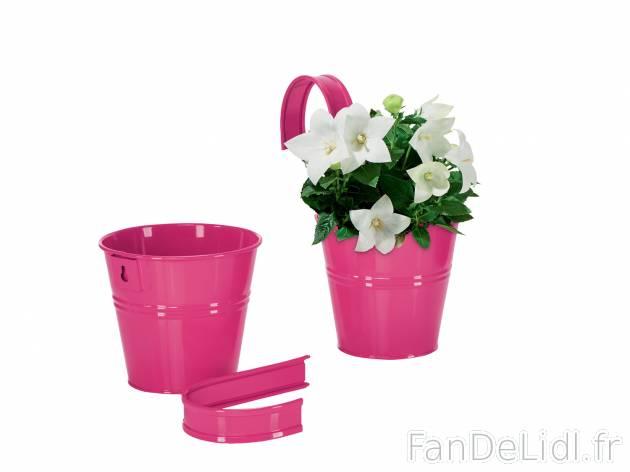 Pots De Fleurs Jardin Fan De Lidl Fr