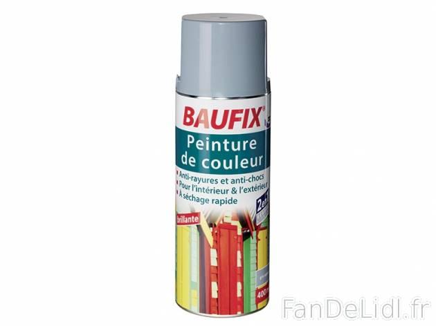 Peinture en spray baufix jardin fan de lidl fr for Peinture baufix