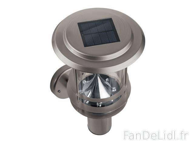 lampe solaire lidl