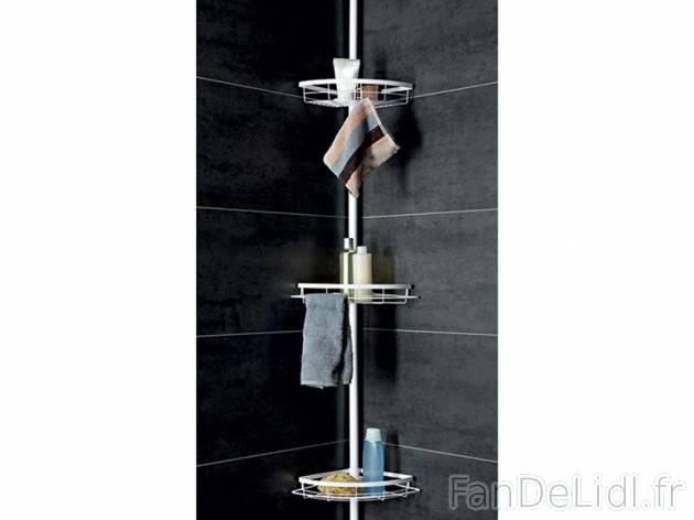 etag re de douche salle de bain am nagement et d cor fan de lidl fr. Black Bedroom Furniture Sets. Home Design Ideas