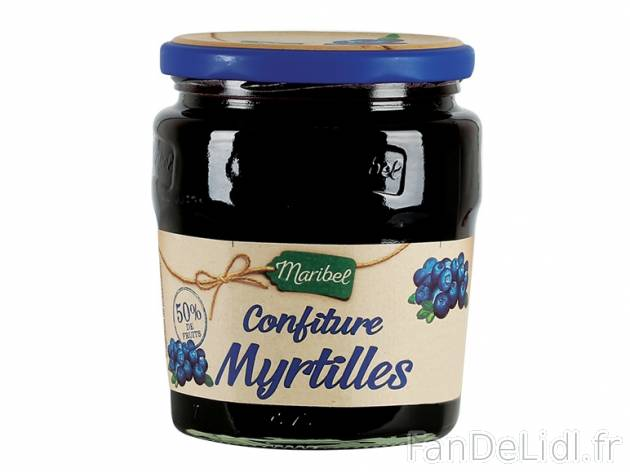 confiture de myrtilles produits alimentaires fan de lidl fr. Black Bedroom Furniture Sets. Home Design Ideas