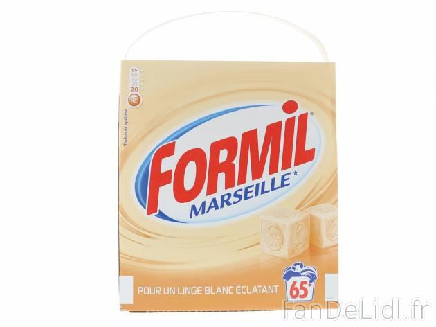 Lessive En Poudre Formil Marseille Produits Ménagers Produits De Beauté Fan De Lidl Fr