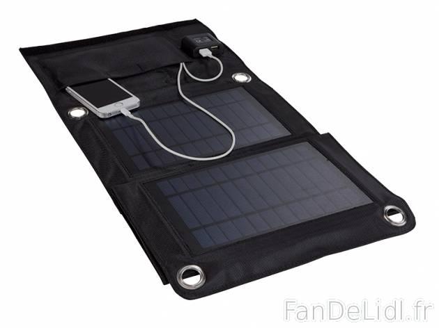 Pannello Solare Lidl : Chargeur solaire sports et loisirs fan de lidl fr