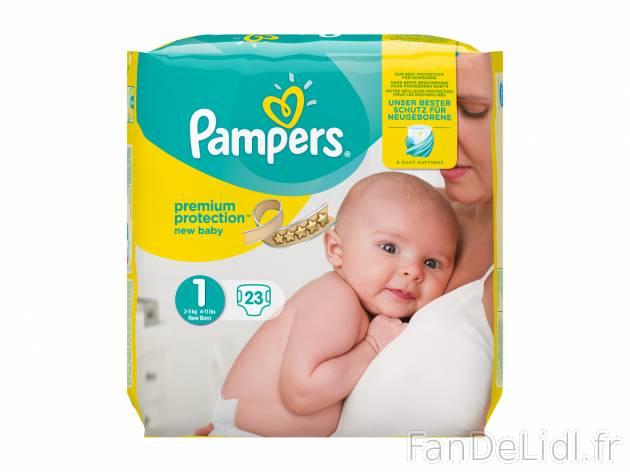 Pampers Couches Pour Enfants Fan De Lidl Fr