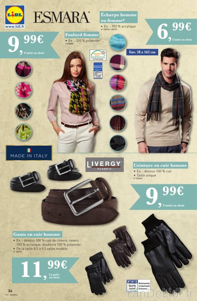 dac50784c7b Vêtements pour hommes et femmes et accessoires de mode. Foulard femme