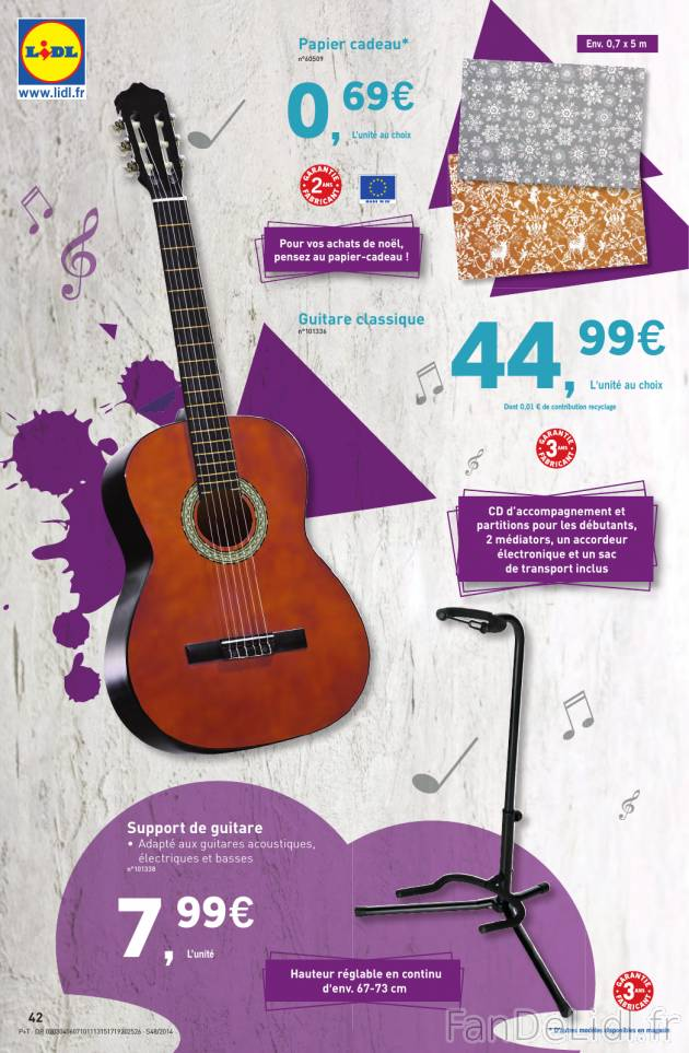 guitare lidl